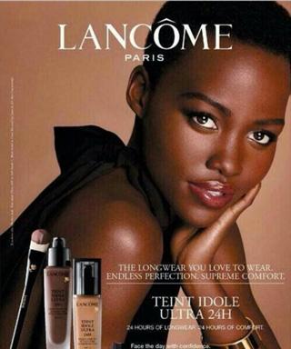 Lupita Nyong'o's Lancome Ad