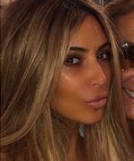 Kim Kardashian Blonde 2014