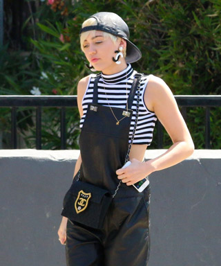 Miley Cyrus Overalls