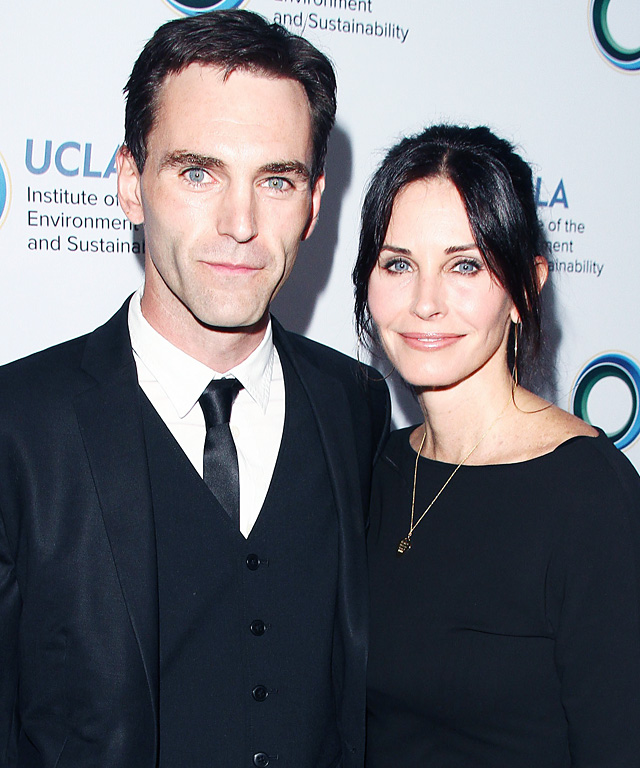 Courteney Cox engaged to Johnny McDaid.