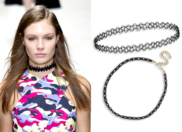 Runway-Inspired Chokers