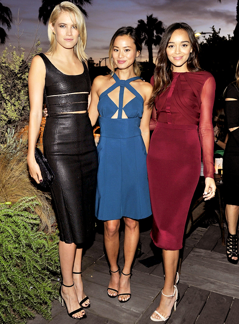 Cody Horn, Jamie Chung and Ashley Madekwe