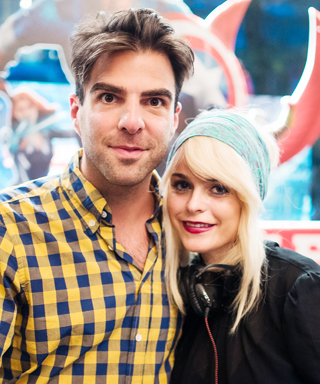 Zachary Quinto and Taryn Manning Celebrate New York City Pride with Kiehl's