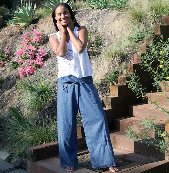 Joy Bryant in Basic Terrain
