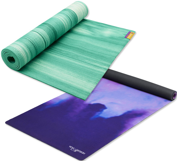 Stylish Yoga Mats to Sweeten Your Practice