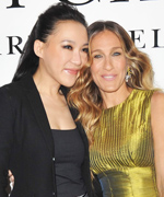 Sarah Jessica Parker and Cindy Chao