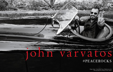 John Varvatos Fall/Winter 2014 Ad Campaign Ringo Starr