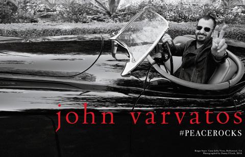 John Varvatos Fall/Winter 2014 Ad Campaign Ringo Starr