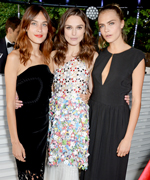 Serpentine Gallery Summer Party: Alexa Chung, Keira Knightley and Cara Delevingne