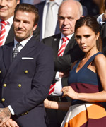 The Beckhams attends Wimbledon