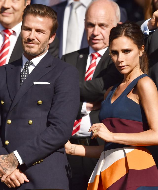 The Beckhams attends Wimbledon