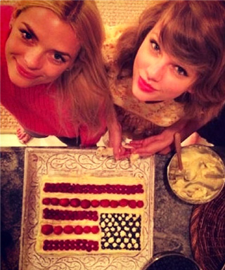 Fourth of July celebrity Instagrams