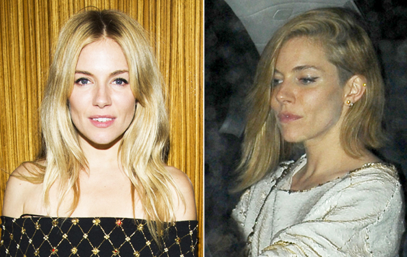 Sienna Miller Haircut