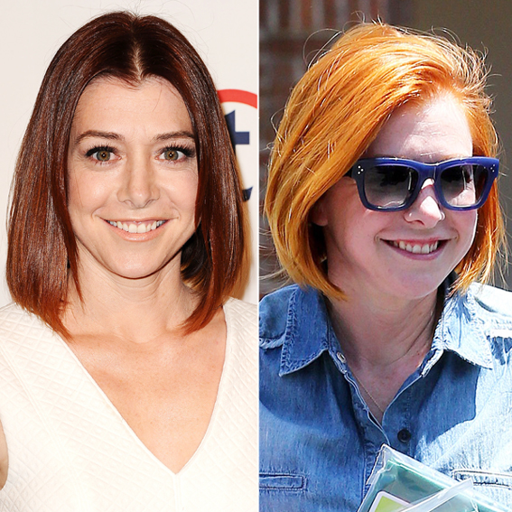 Alyson Hannigan new hair