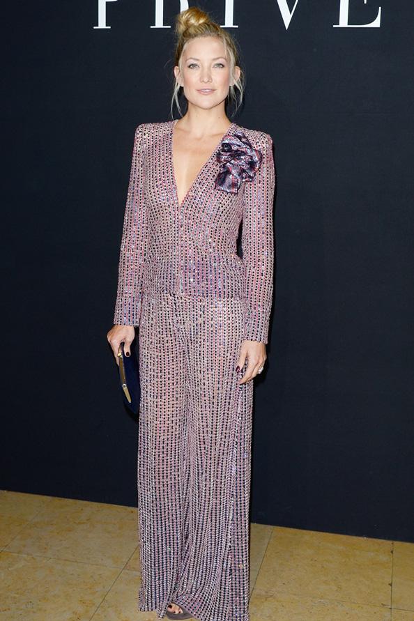 Kate Hudson at Armani Prive Fall 2014