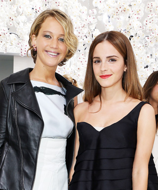 Photo of the Day: Katniss Face-Palmed Hermione at the Christian Dior Fashion Show