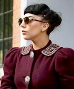 Lady Gaga's Dog-Walking Outfits