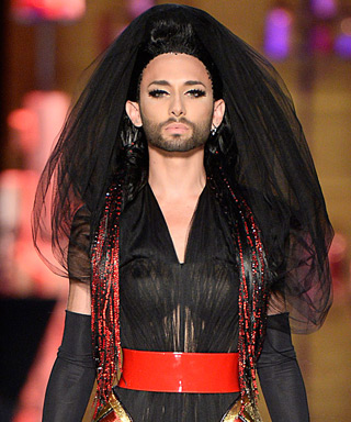 Conchita Wurst for Jean Paul Gaultier