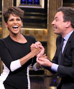 Halle Berry and Jimmy Fallon