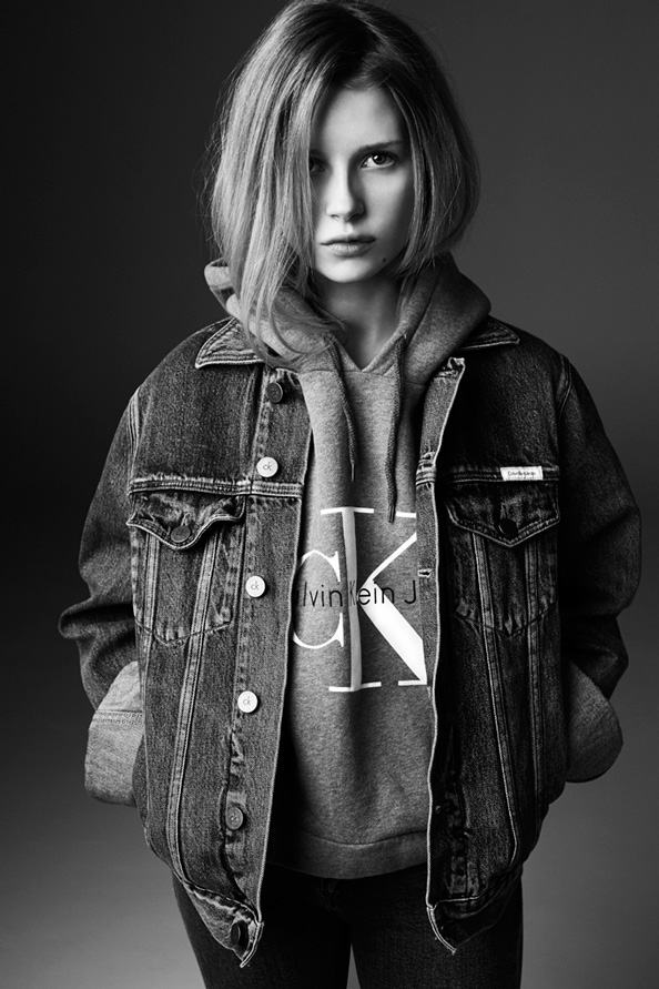 Lottie Moss for Calvin Klein Jeans x mytheresa.com The Re-Issue Project