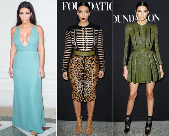 Kardashians at Couture Fashion Week
