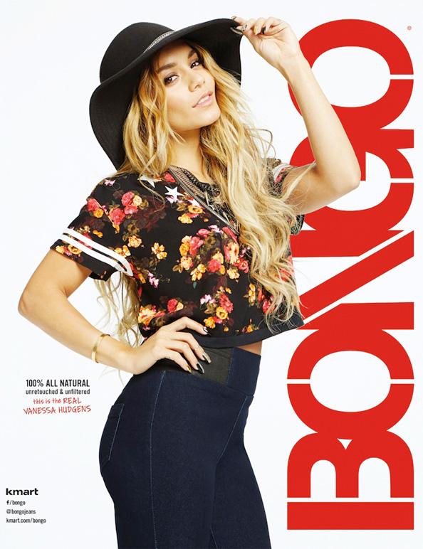 Vanessa Hudgens for Bongo