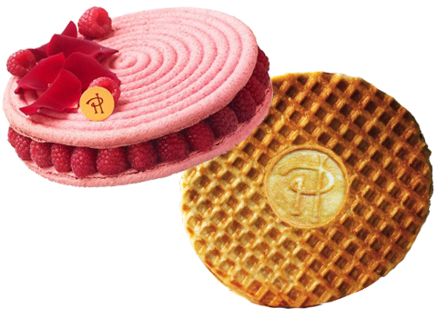 Raspberry and Rose Pastry and Waffles