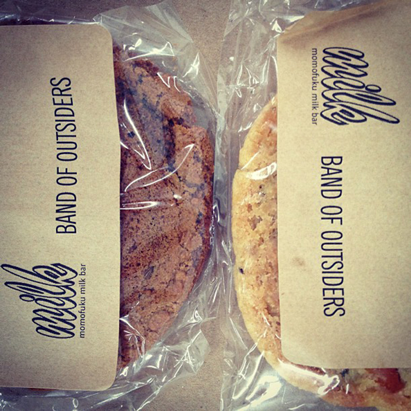Band of Outsiders x Milk Cookies