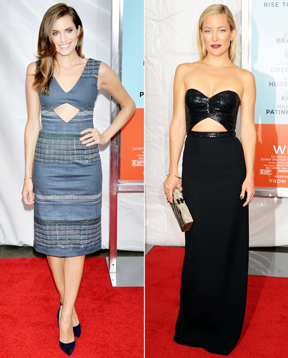 Red Carpet Trend: Cutouts