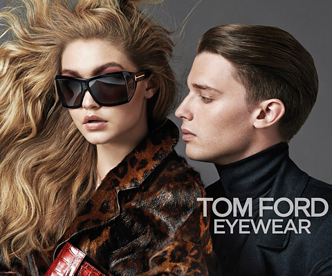 Gigi Hadid and Patrick Schwarzenegger for Tom Ford Eyewear