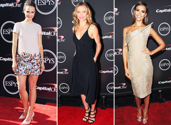 2014 ESPY Awards Red Carpet Fashion
