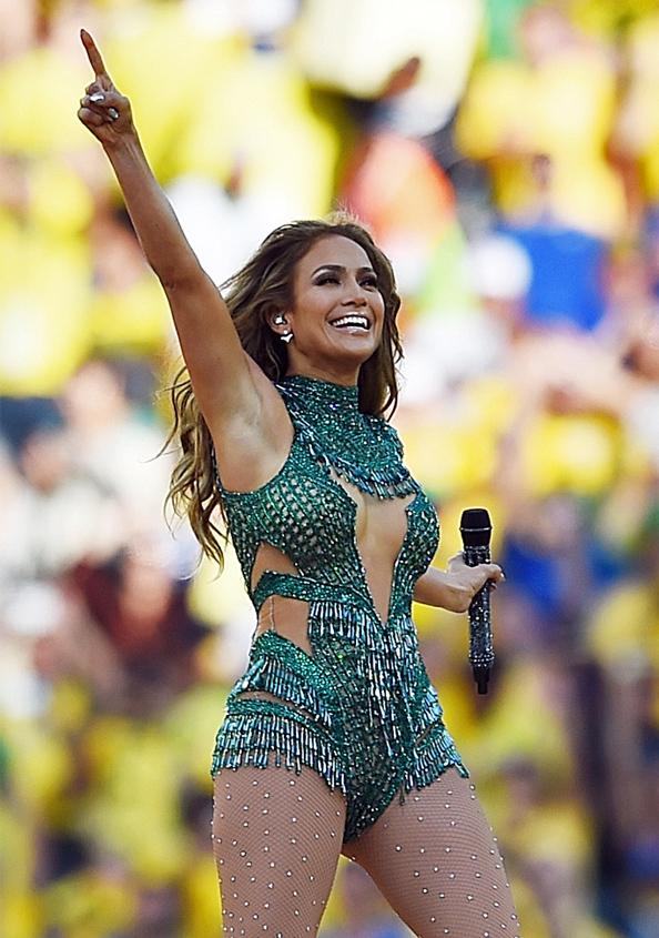 Jennifer Lopez at the 2014 World Cup