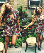 Beyonce in Chelsea Paris