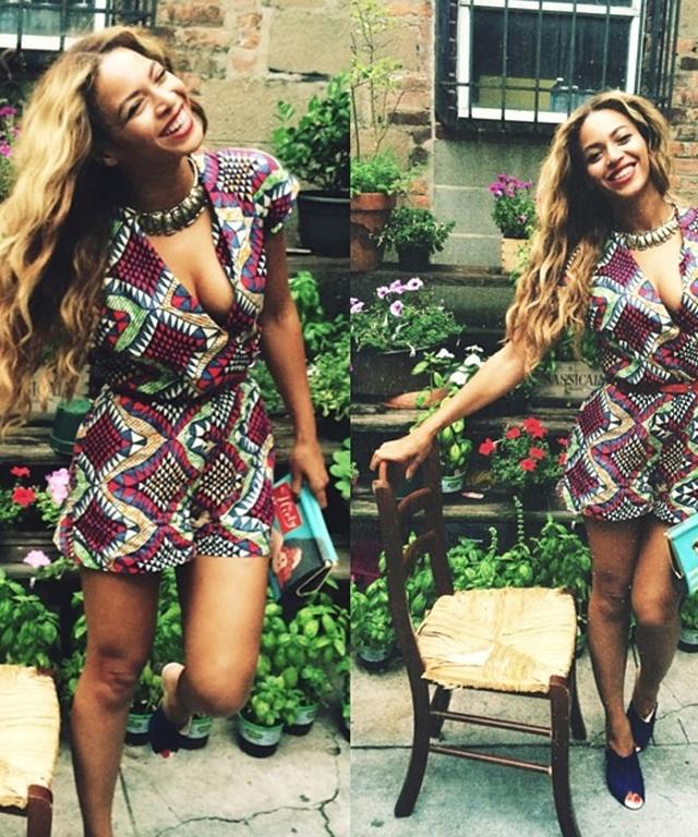 Beyonce in Chelsea Paris