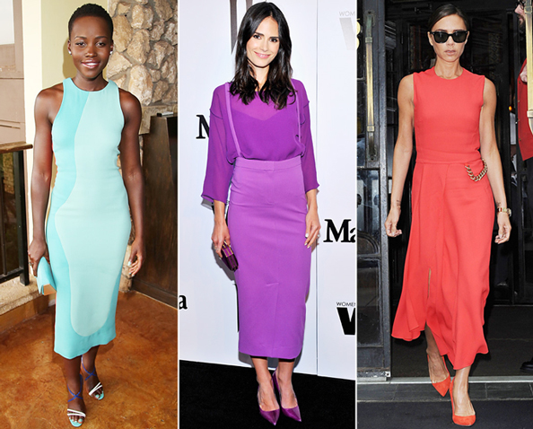 Celebrities-Color Coordinated