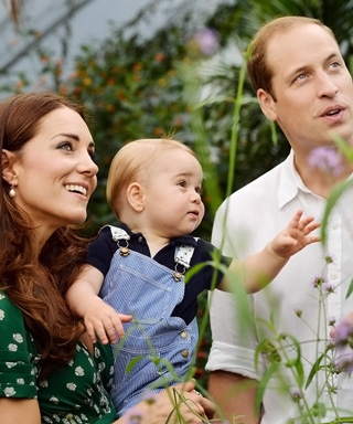 Prince George at London's Natural History Museum