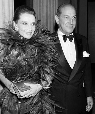 Audrey Hepburn and Oscar de la Renta