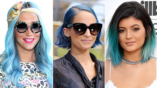Kesha Blue Hair