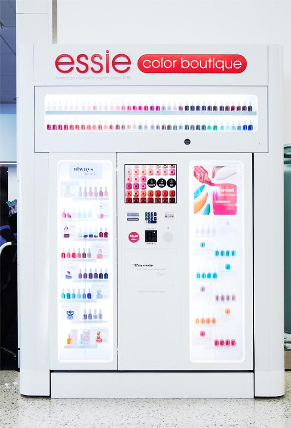 nail vending machine