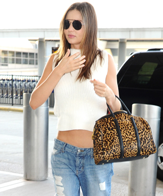 Miranda Kerr Gives Birkenstocks a Very Fashionable Spin