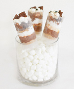 S'mores Push-Up Pops