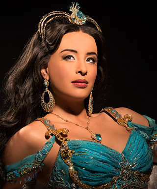 Jasmine from Aladdin on Broadway - Courtney Reed