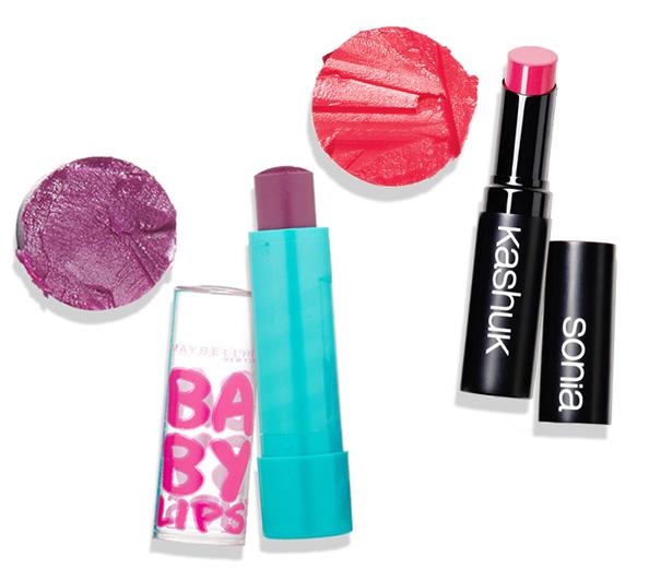 tinted lip balms
