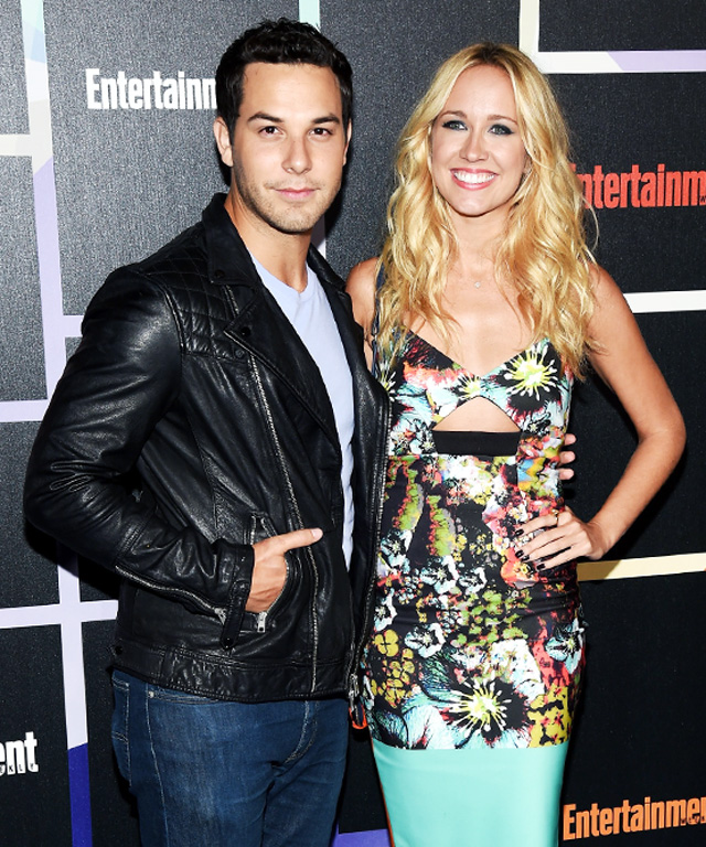 Anna Camp & Skylar Astin at Comic-Con 2014