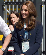 Kate Middelton at Commonwealth Games
