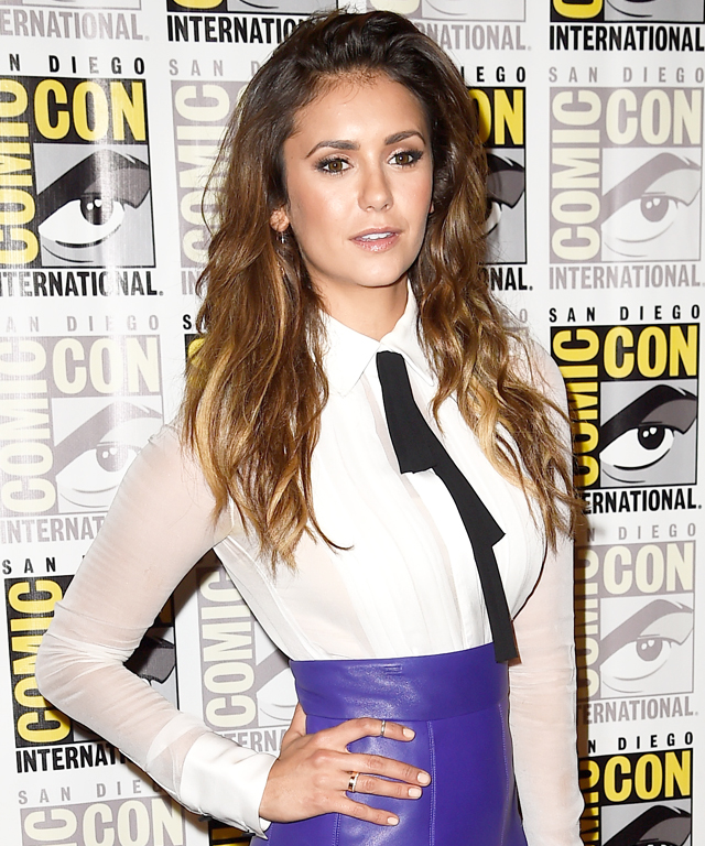 Nina Dobrev at Comic Con