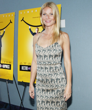 Gwyneth Paltrow Steps Out in an Eye Catching Midi-Dress for Hamptons Party