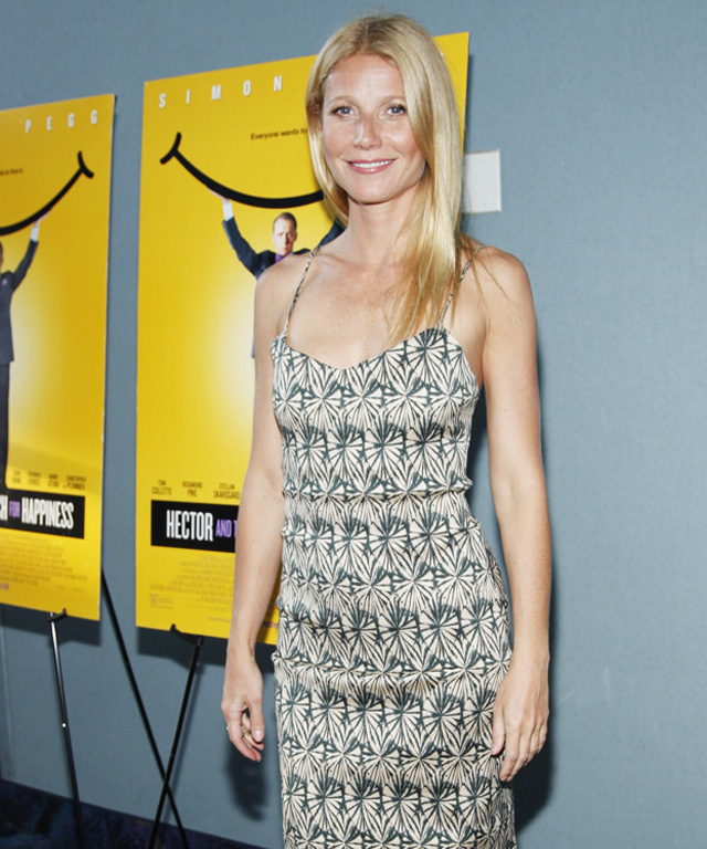 Gwyneth Paltrow in Wes Gordon