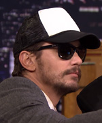 James Franco with Jimmy Fallon