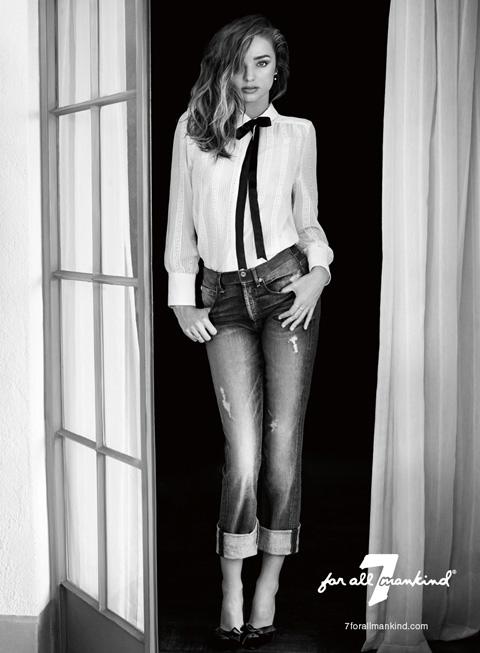 Miranda Kerr for 7 For All Mankind